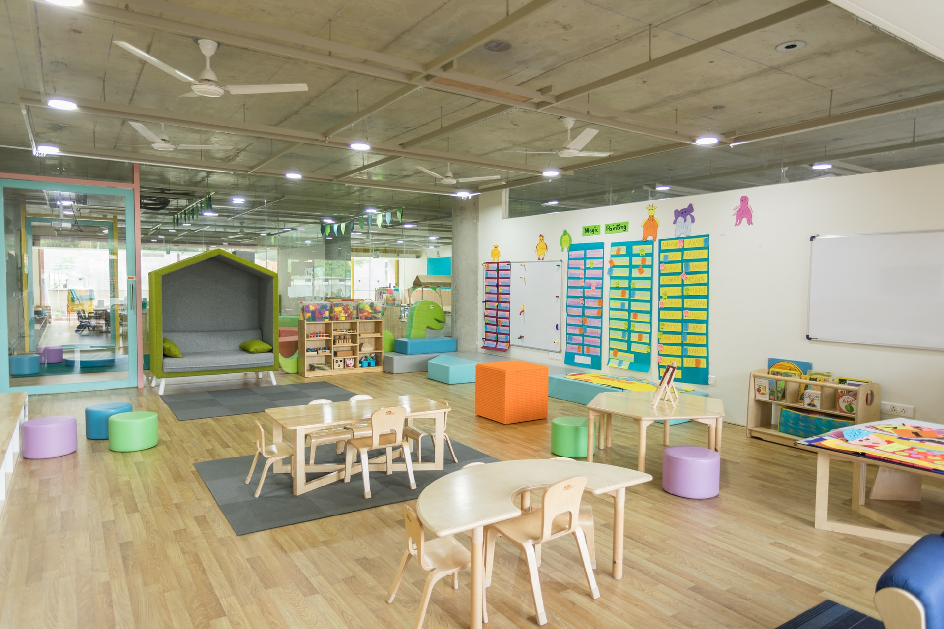 The Germiest Places in a Daycare